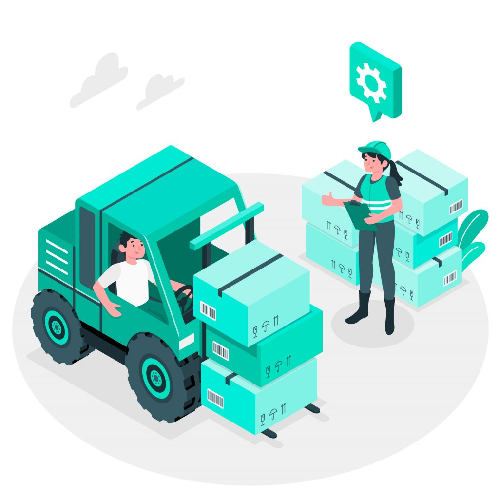 Why Businesses Employ Online Inventory Systems Man and Woman Doing Inventory Management